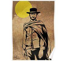 Cowboy legend - Clint Eastwood / Dirty Harry minimalist Poster
