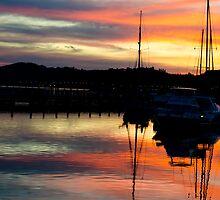 sunset by BeliaOh