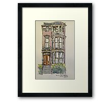 'The Inn', 943 South Van Ness Ave., San Francisco. California. ©2010 Framed Print