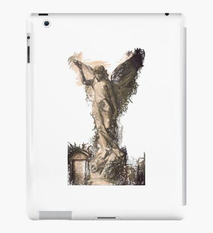 Graveyard Angel 1 iPad Case/Skin