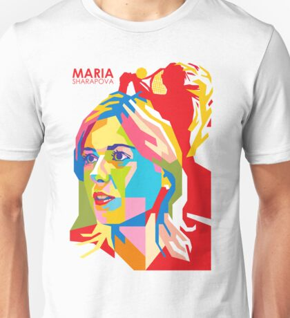 "WPAP - ""Maria Sharapova"" Unisex T-Shirt"