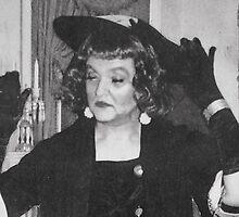 The artist as Bette Davis, circa 1964 by PaulStanley