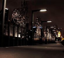 Southbank by night by Andrew Dickman
