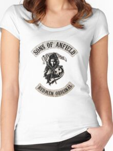 Sons of Anfield - Redmen Original Women's Fitted Scoop T-Shirt