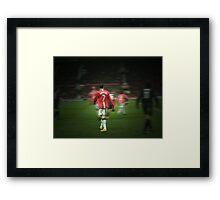 Christiano Ronaldo  Framed Print