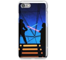STAR WARS! Luke vs Darth Vader  iPhone Case/Skin