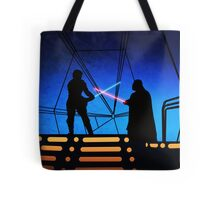 STAR WARS! Luke vs Darth Vader  Tote Bag