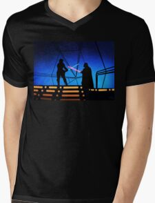 STAR WARS! Luke vs Darth Vader  Mens V-Neck T-Shirt