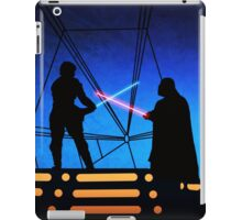 STAR WARS! Luke vs Darth Vader  iPad Case/Skin