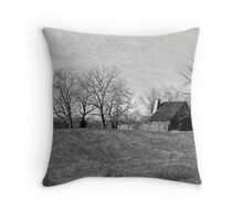 Mary House Throw Pillow