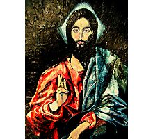 Christ after El Greco Photographic Print