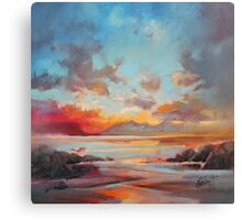 Red Eigg Canvas Print