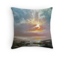 Hebridean Sky Study 4 Throw Pillow
