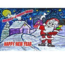 Happy Holidays Already Photographic Print