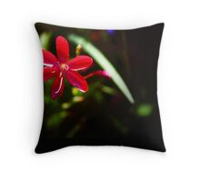Flowers at Dandenong Ranges Throw Pillow