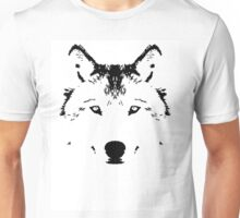 Rorscach Wolf Unisex T-Shirt