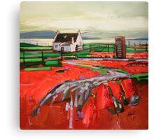 Skye Phonebox Canvas Print