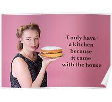 Vintage Kitchen Poster Poster