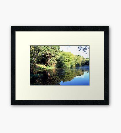 Middle Lake - Ampleforth Framed Print