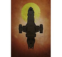 I'm a leaf on the wind - Firefly / serenity  Photographic Print