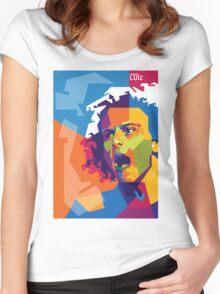 """WPAP - """"David Luiz"""" Women's Fitted Scoop T-Shirt"""