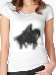 Skeleton Women's Fitted Scoop T-Shirt