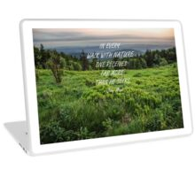 Walk with nature 3 Laptop Skin