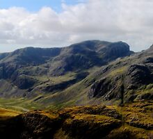 ill crag and the scafells by Ilapin