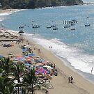 Beach scene - escena de la playa, Puerto Vallarta, Mexico by PtoVallartaMex