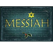 Messiah Photographic Print