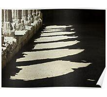 Cloister Shadows Poster