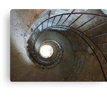 Spiral Stair Canvas Print