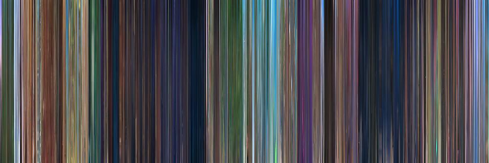 Moviebarcode: Rio (2011) by moviebarcode