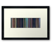 Moviebarcode: Rio (2011) Framed Print