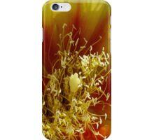Prickly Pear Cactus Flower iPhone Case/Skin