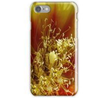 Prickly Pear Cactus Flower iPhone Case/Skin