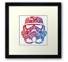 Hippy Retro Trooper Framed Print