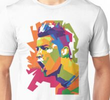World Cup Edition - Cristiano Ronaldo in WPAP Unisex T-Shirt