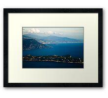 Cote d'Azur Framed Print