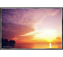 Once Upon A Sunrise Photographic Print