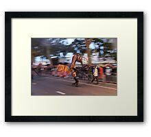 Horse Man Framed Print