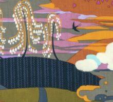 Fantasy Fabric Land  Sticker