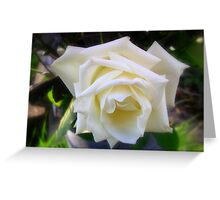 Ice Cream Rose Greeting Card