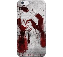 Leatherface - Chainsaw Massacre iPhone Case/Skin