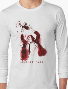 Leatherface - Chainsaw Massacre Long Sleeve T-Shirt
