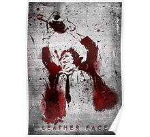 Leatherface - Chainsaw Massacre Poster