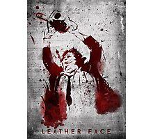 Leatherface - Chainsaw Massacre Photographic Print