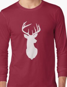 White Deer Long Sleeve T-Shirt