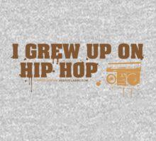 I Grew Up On Hip-Hop: Original Logo Kids Clothes