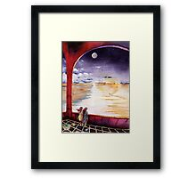 """All Along The Watchtower Framed Print"